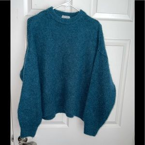 & other stories alpaca blend oversized sweater